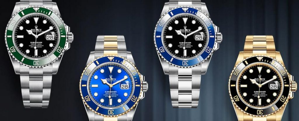 All these copy Rolex Submariner watches are good choice for men.